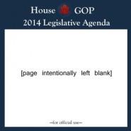 GOP Agenda