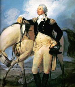 George Washington, by John Trumbull