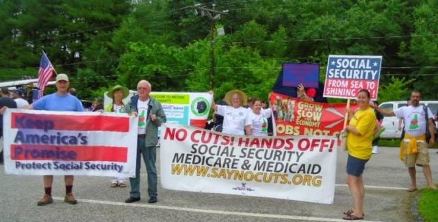 Hands off Social Security