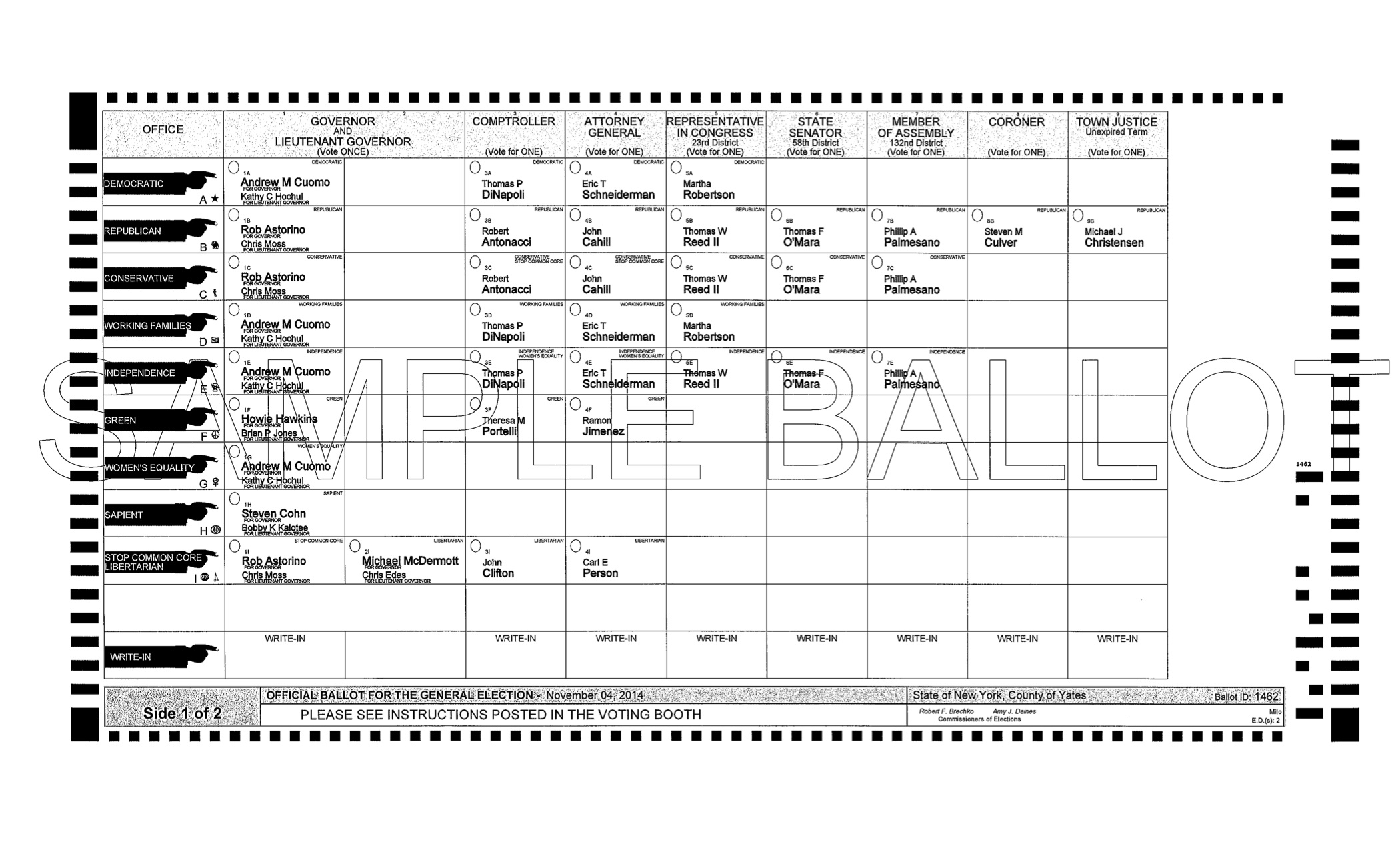 View Your Ballot | New NY 23rd