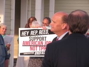 Rep. Reed and TPP
