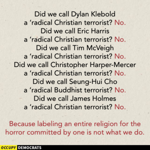 Radical Christian terrorists