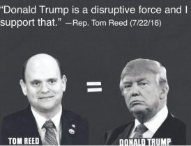 Trump is a disruptive force