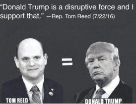 Trump is a disruptive force
